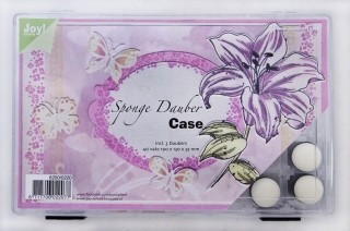 Joy! Crafts - Sponge dauber case - incl. 3 daubers