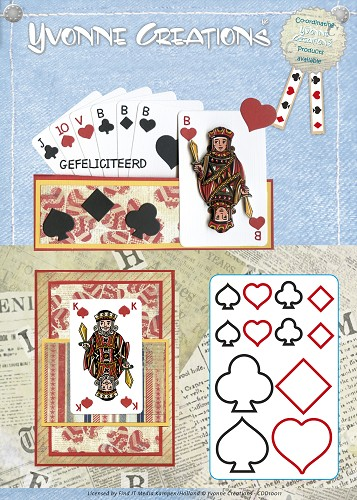 Stansmal - Yvonne Creations - Men - Playing cards