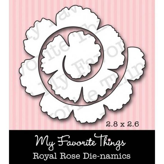Stansmal My Favorite Things - Die-namics Royal Rose