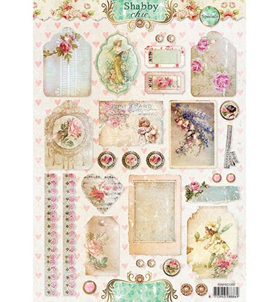 Studio Light - Stap voor stap A4 - Shabby Chic nr 1302