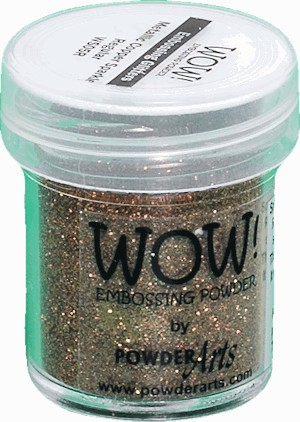 WOW embossingpoeder - Metallic Copper Sparkle - Regular