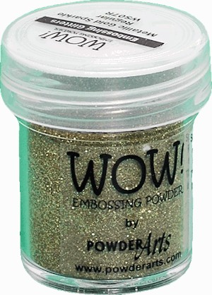 WOW embossingpoeder - Metallic Gold Sparkle - Regular