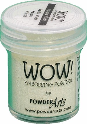 WOW embossingpoeder - Opaque Vanilla White - Regular