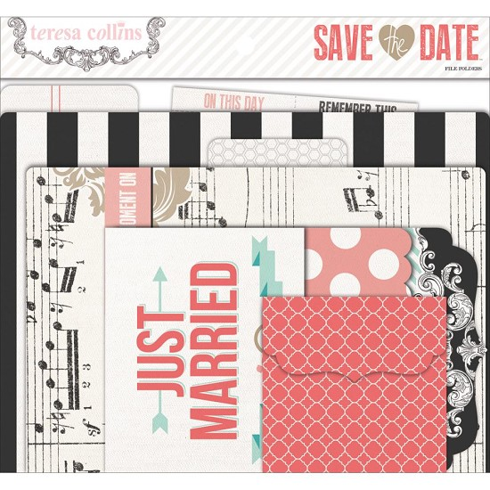 File Folders & Tags Theresa Collins - Save the Date