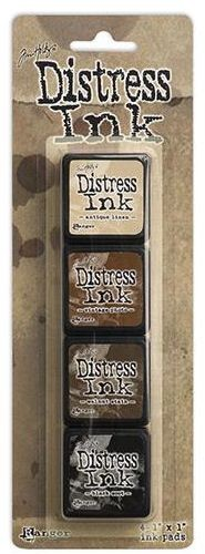 Distress inkt Mini - Set - Kit 3