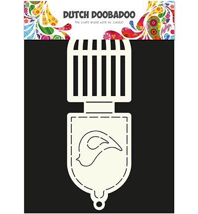 Dutch Doobadoo - Dutch Card Art - Birdcage