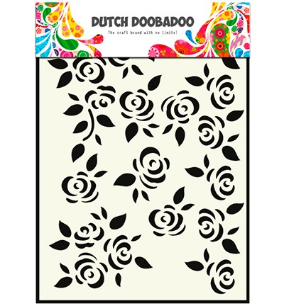 Dutch Doobadoo - Dutch Mask Art A5- Roses