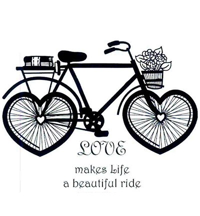 Stamp - Creative Expressions - Singles - Loves Beautiful Ride Set