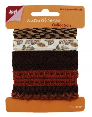 Joy! Crafts - Ribbons Natural Sense Collection 1 - set 4