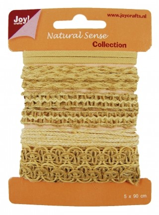 Joy! Crafts - Ribbons Natural Sense Collection 2 - set 2
