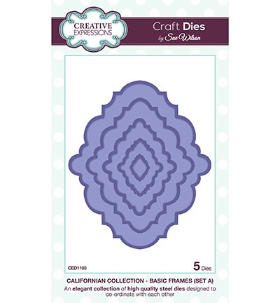 Stansmal Creative Expressions - Craft Dies - Basic Frames A