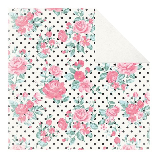 Scrappapier Authentique - Pretty - Rosette