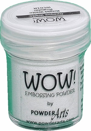 WOW embossingpoeder - Bright White - Super Fine