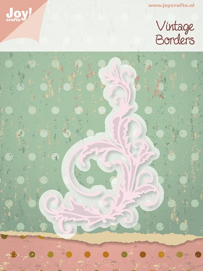 Noor! Design - Cutting & Embossing stencil - Vintage borders - Swirl