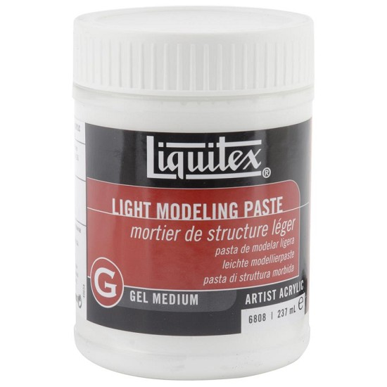 Liquitex - Acrylic Gel Medium - Light Modeling Paste