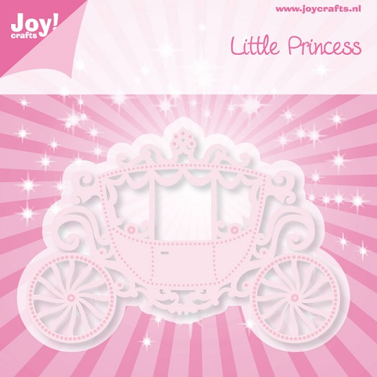 Noor! Design - Cutting & Embossing stencil - Little Princess - Koets