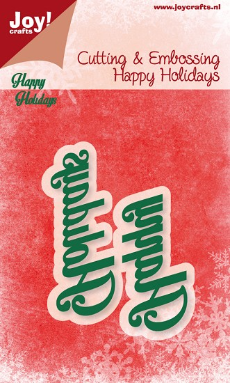 Noor! Design - Happy Holidays - Happy Holidays tekst