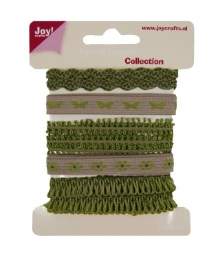 Joy! Crafts - Ribbons Forest Friends - Collection 2 set 4