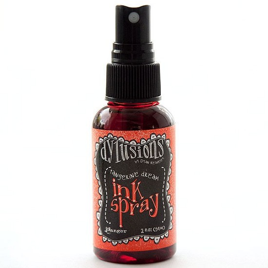 Dyan Reaveley - Dylusions Spray - Tangerine Dream