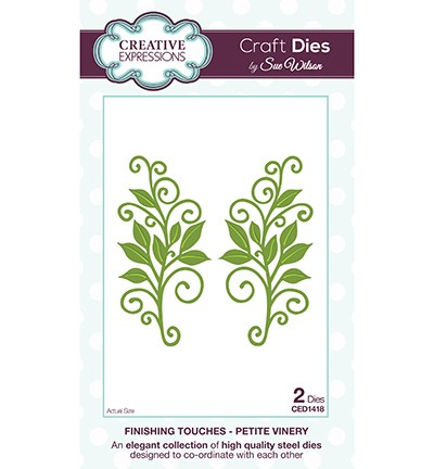 Stansmal Creative Expressions - Craft Dies - Petite Vinery