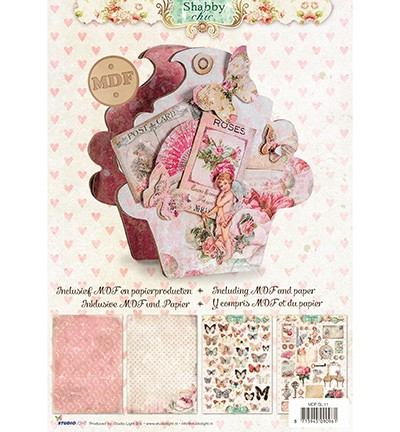 Studio Light - MDF pakket - Cupcake Shabby Chic