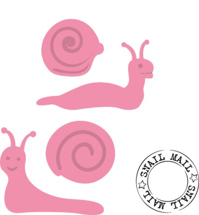 Collectable - Marianne Design - Snail mail