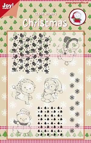 Joy! Crafts - Clearstamp - Christmas bears
