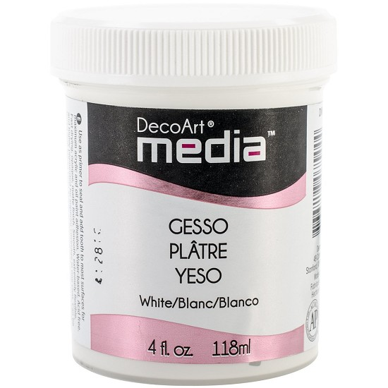 DecoArt Media - Gesso - White