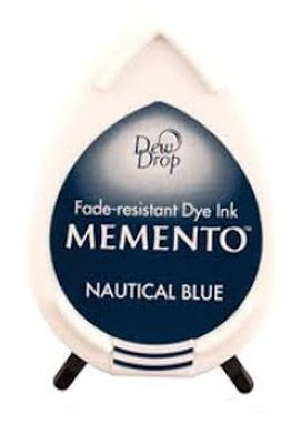 Stempelinkt - Memento - Dewdrop - Nautical Blue