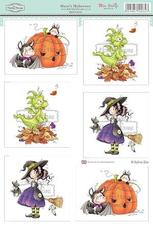 Stansvel THH Wee Stamps - Hazel`s Halloween