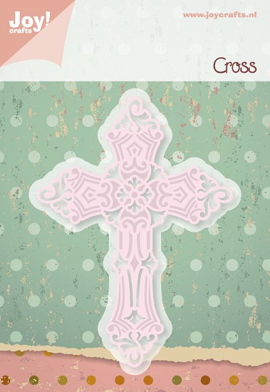 Noor! Design - Cutting & Embossing stencil - Cross / kruis
