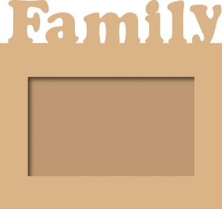 Noor! Design - MDF - Photoframe family