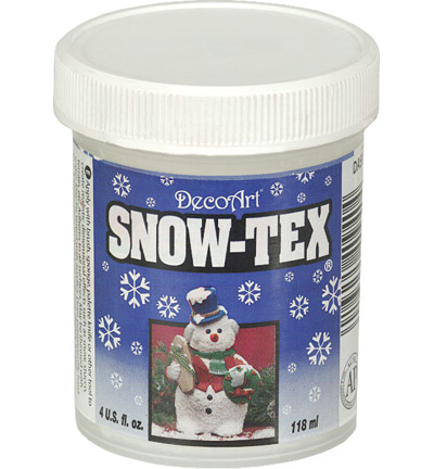 DecoArt - Snow Tex - 4oz