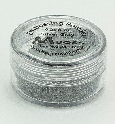 Embossingpoeder - Mboss - Silver Gray