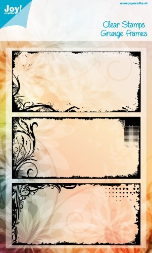 Noor! Design - Clear stamp - Grunge Frames