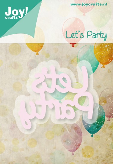 Noor! Design - Cutting & Embossingmal - Let`s Party - Text