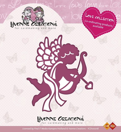 Stansmal - Yvonne Creations - Love Collection - Cupido