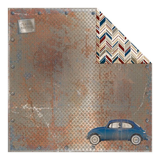 Scrappapier Authentique - Durable - Classic Car