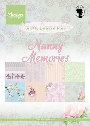 Marianne Design - Paperpad - Nanny memories