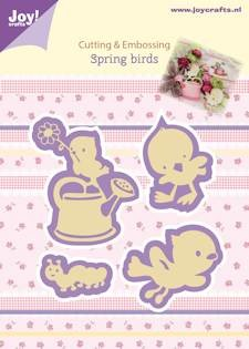 Joy! Crafts - Cutting & Embossingmal - Spring - Birds