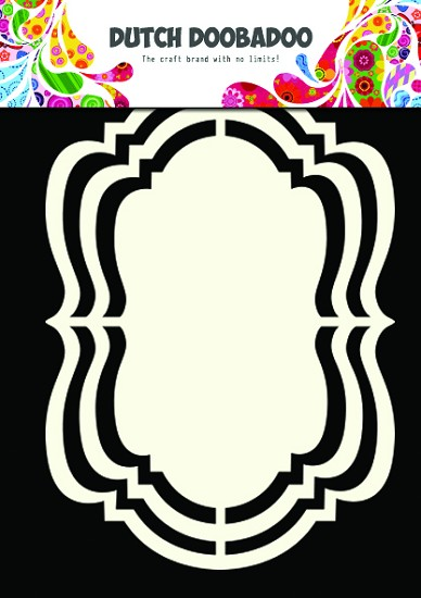 Dutch Doobadoo - Dutch Shape Art - Frames Ornament
