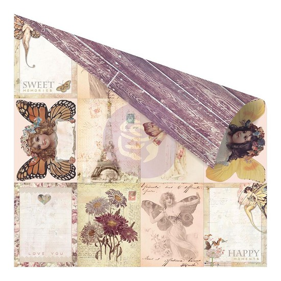Prima Marketing - Butterfly - Vintage ATC