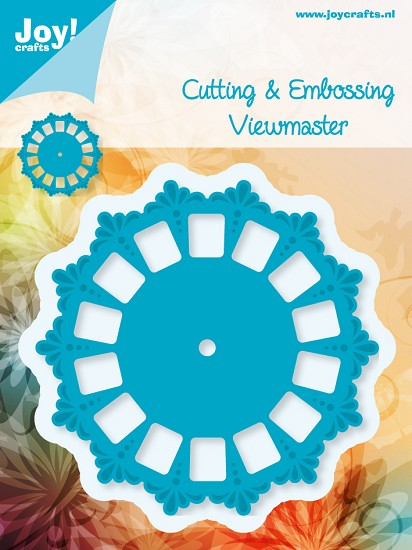 Noor! Design - Cutting & Embossing stencil - Blauwe mal - Viewmaster