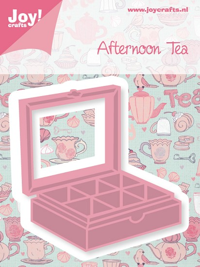 Noor! Design - Cutting & Embossing stencil - Afternoon Tea - Thee box