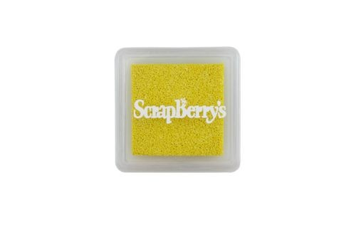 ScrapBerry`s - Pigment Ink - Shimmering Sunny Yellow