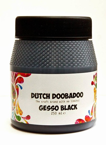 Dutch Doobadoo - Gesso Black 250 ml