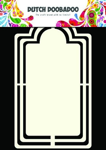 Dutch Doobadoo - Dutch Shape Art - Label Frame