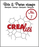 Clearstamp Crealies - Bits & Pieces - No 07 Thin Mosaic