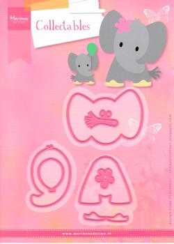 Marianne Design - Collectable - Eline`s Elephant
