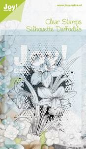 Noor! Design - Clearstamp Silhouettes - Narcis